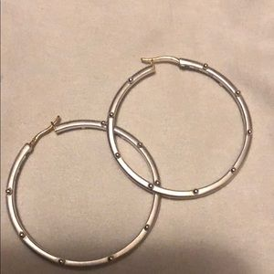 Jewelry - Sterling silver hoops from Taos